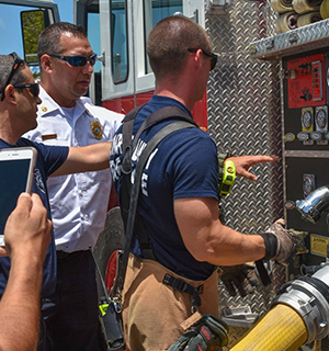 Firefighter exchange
