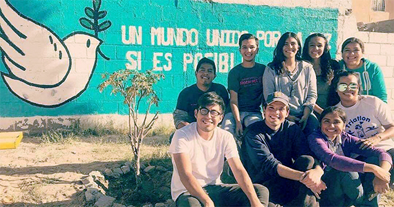 Park mural in Cuidad Juárez, Chihuahua, Mexico