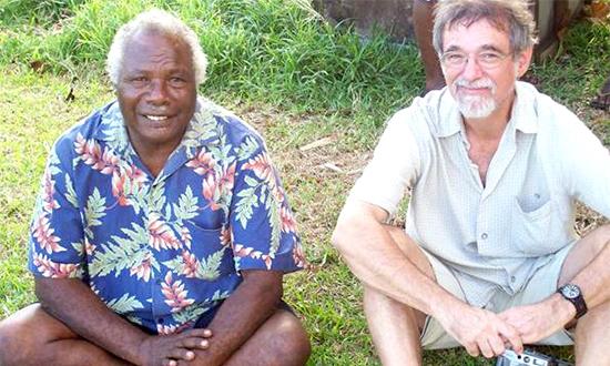 Chief Matari and Charlie Masilae Hunt