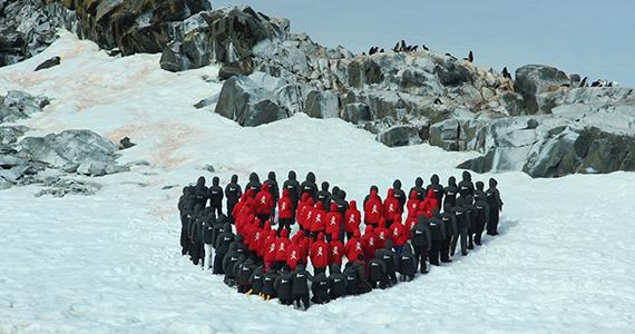 Women scientists on Antarctica