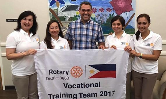 The vocational training team