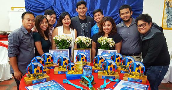 Members of the Rotaract Club of Manila
