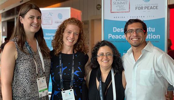 Rotary Peace Fellows at Mexico summit